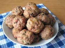 Roast Pork Meatballs