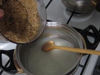 Walnut filling