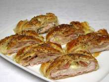 Puff Pastry Turkey Roll