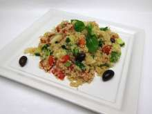 Quinoa Salad with Fresh Vegetable