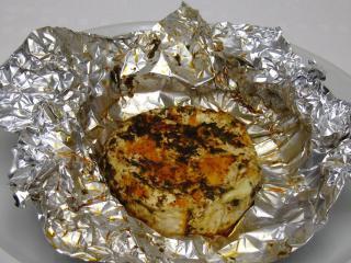 Camembert with Wild Garlic