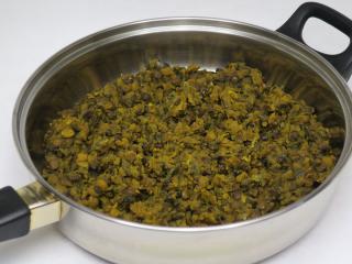 Lentil-pea spicy Dhal