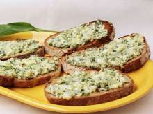 Egg spread with ramsons