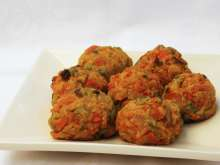 Baked vegetable balls