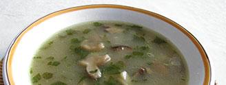 Mushroom soups