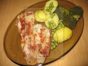 Steamed Alaskan Cod Fillet