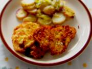 Chicken cutlets with tartar sauce