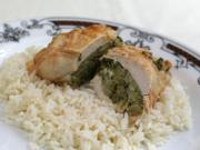 Stuffed Chicken Rolls in Steamer