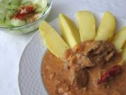 Spicy Chicken Livers with Creamy Sauce