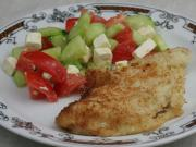 Chicken breast in coconut glaze