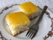 Coconut Cake with Orange Topping