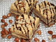 Walnut-caramel cake
