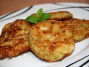 Cauliflower and broccoli fritters with cheese