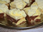 Cream cake with mascarpone