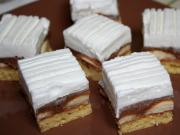 Snowy sponge cake