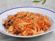 Grated Apple with Carrot