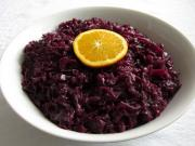 Red Cabbage with Orange