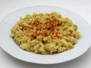 Scrambled cauliflower with eggs