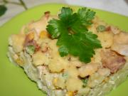 Oven-baked Potato Dumplings with Chicken Meat