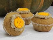 Halloween Walnut Cupcakes