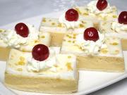 Cream cheese and caramel dessert