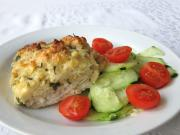 Fish Fillets under the Cheese Crust