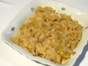 Honey braised cabbage