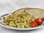 Tofu Scramble with Radish