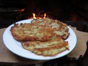 Cottage potato pancakes