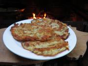 Cottage potato pancakes