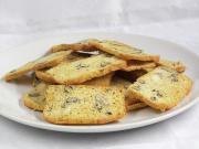 Crispy egg whites bread