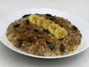 Oat porridge with buckwheat