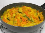 Coconut stewed vegetables