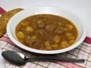 Veal goulash with potatoes