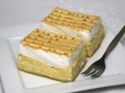 Coconut cream curd dessert