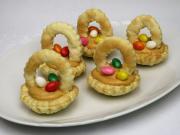 Caramel Easter cupcakes