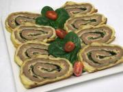Beef roll with spinach