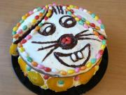 Cheerful Easter cake Bunny