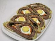 Spring meat roulade
