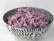 Cabbage salad with mayonnaise