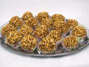 Caramel vegan balls
