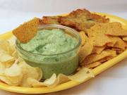 Dip with ramsons